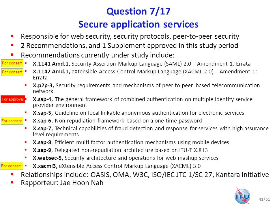 Question 7/17 Secure application services