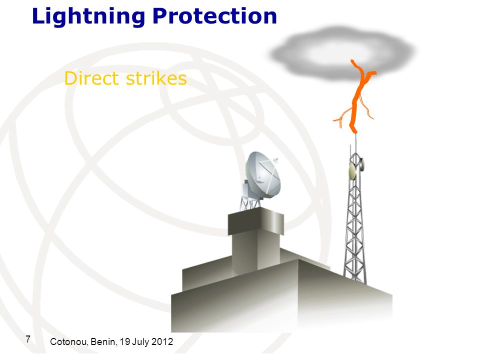 Lightning Protection Direct strikes Cotonou, Benin, 19 July 2012