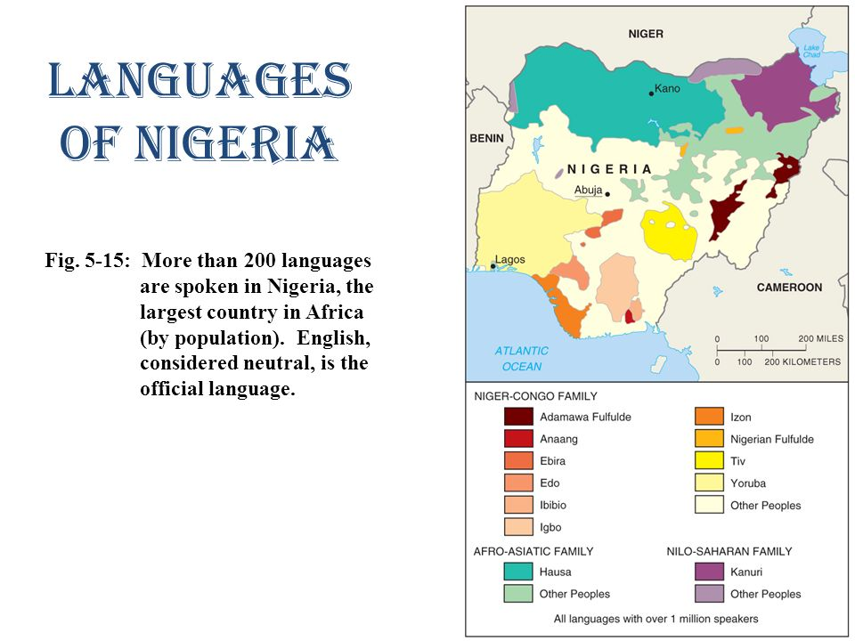 Languages of Nigeria