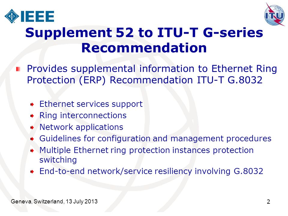 Supplement 52 to ITU-T G-series Recommendation