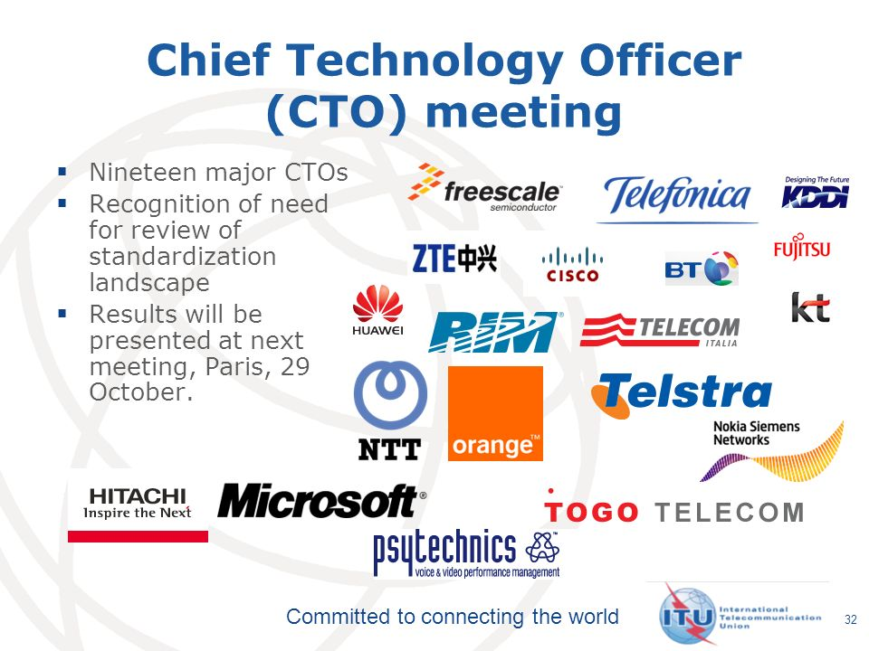Chief Technology Officer (CTO) meeting