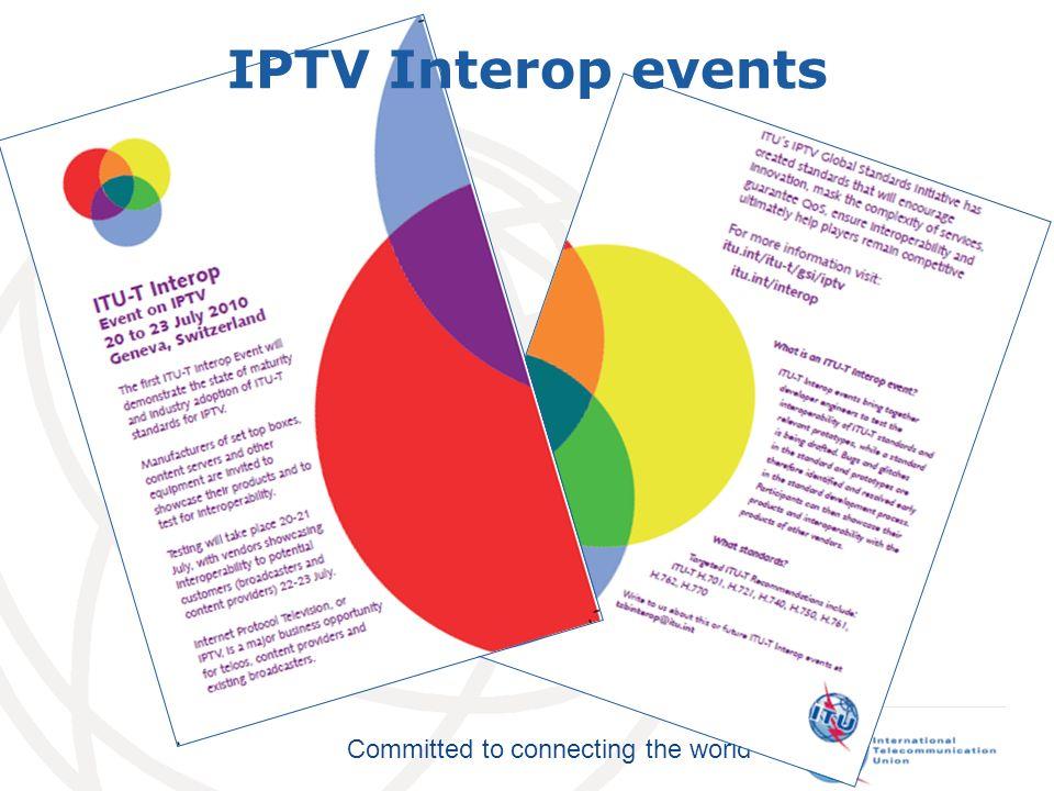 IPTV Interop events