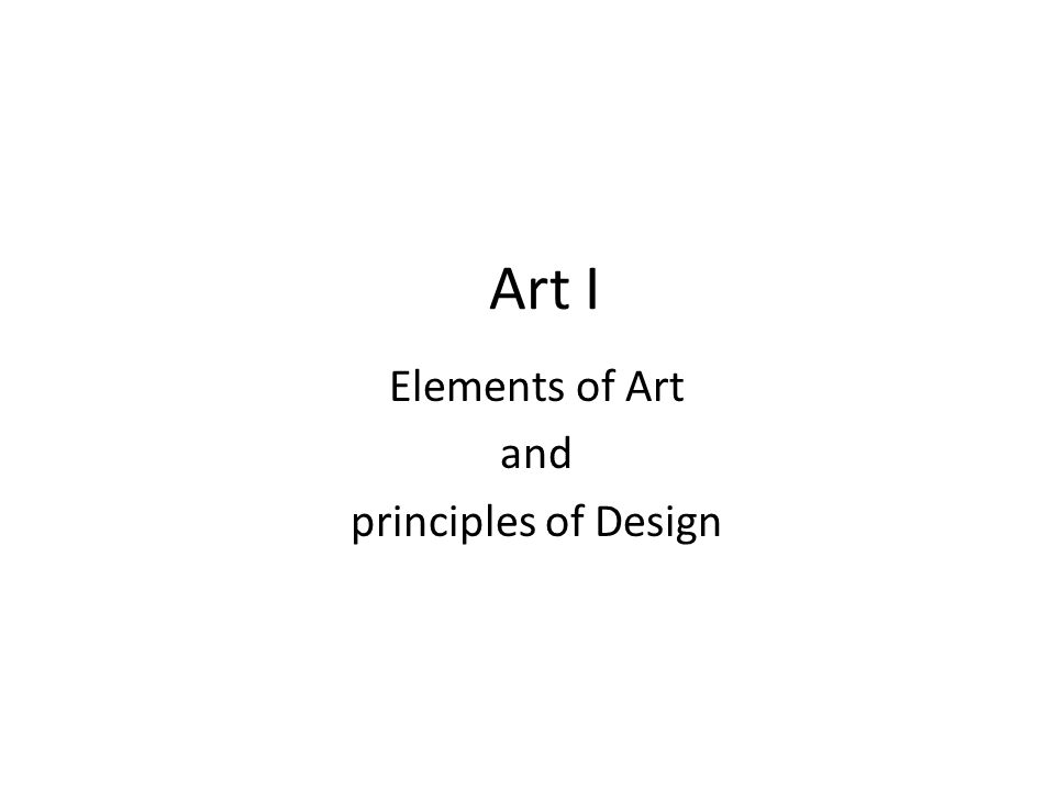 Elements And Principles Of Design Contrast : Elements of art and principles design ppt video