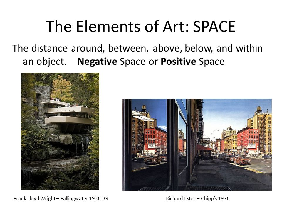 Principles Of Art Space : Elements of art and principles design ppt video
