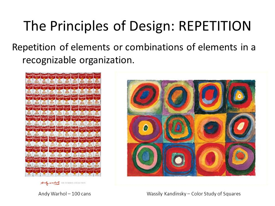Elements of art and principles design ppt video