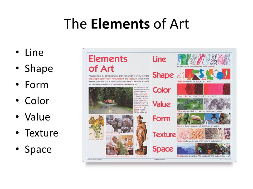 Line Color Form : Elements of art and principles design ppt video