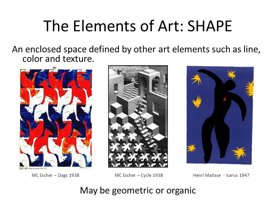What Are The Elements Of Arts Define Each : Elements of art space definition usbdata