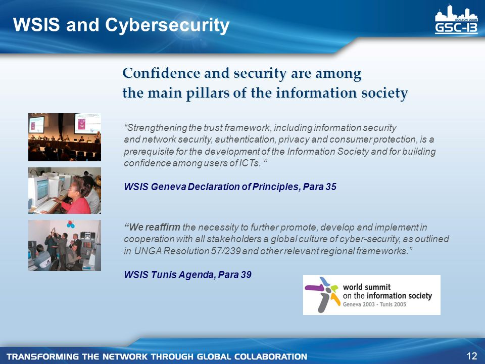 WSIS and Cybersecurity