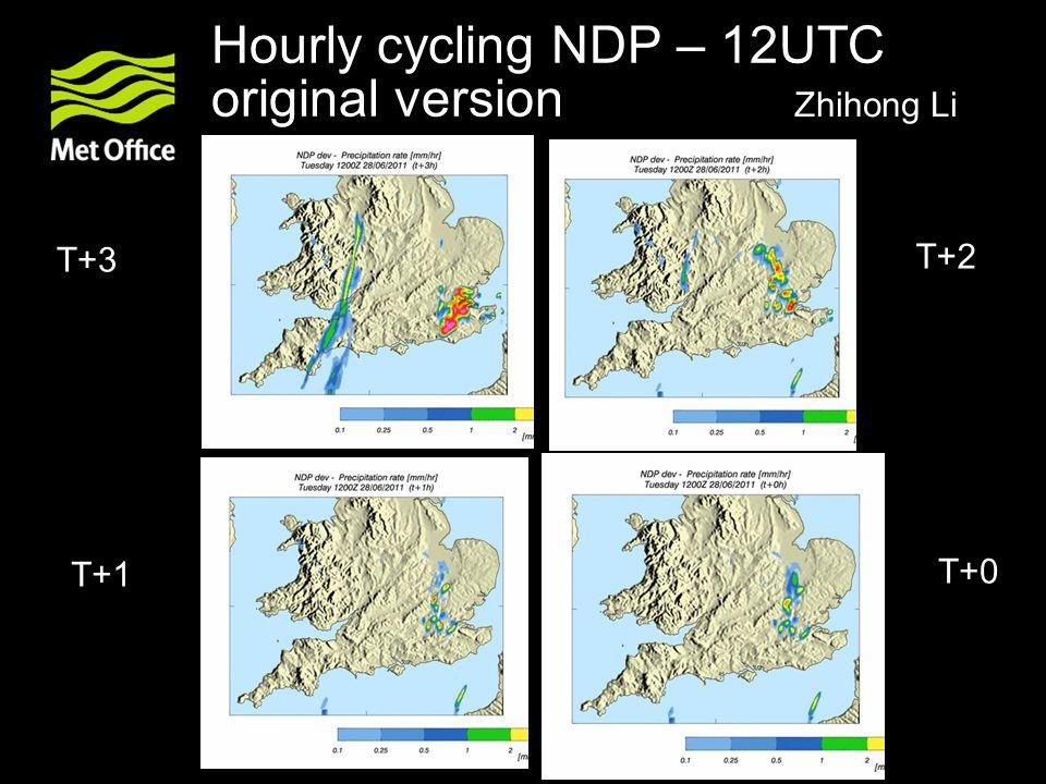 Hourly cycling NDP – 12UTC original version