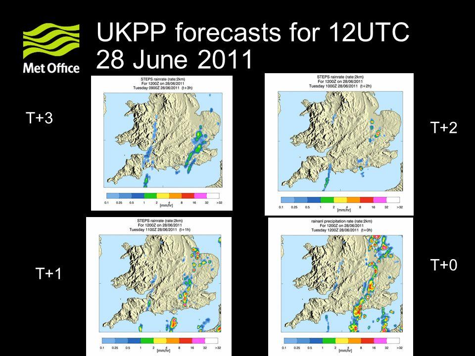 UKPP forecasts for 12UTC 28 June 2011