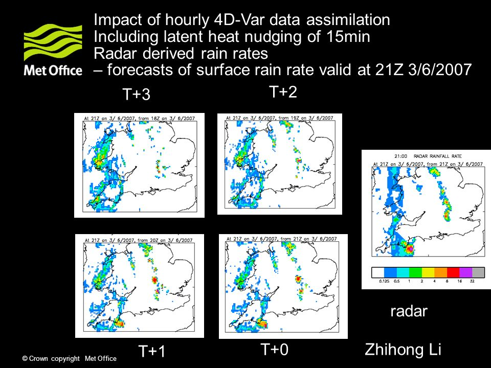 Impact of hourly 4D-Var data assimilation