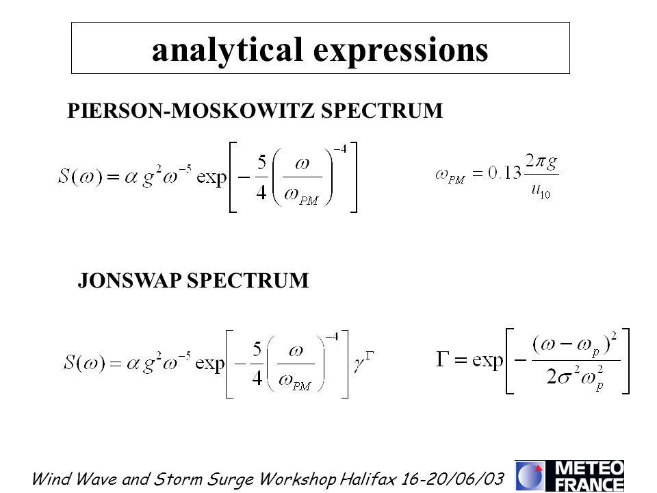 analytical expressions