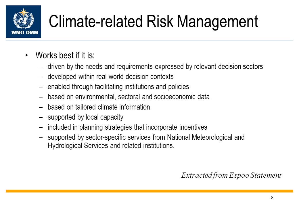 Climate-related Risk Management