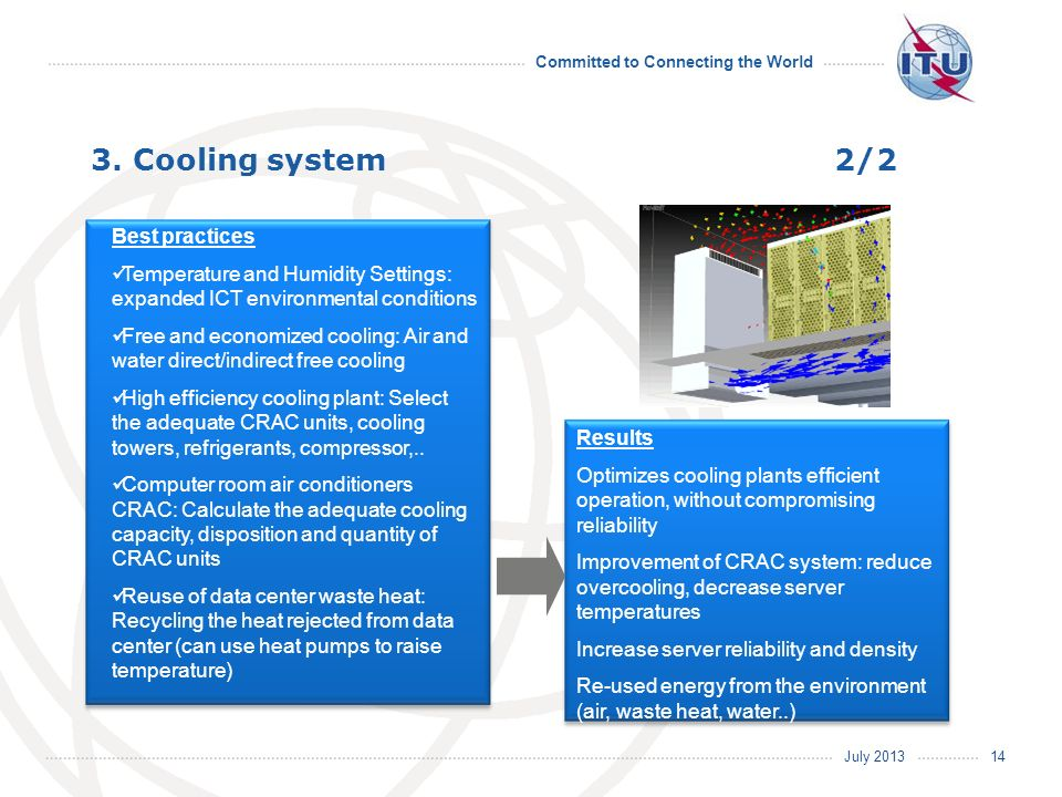 3. Cooling system 2/2 Best practices