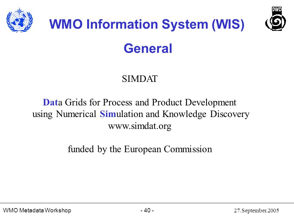 General SIMDAT Data Grids for Process and Product Development