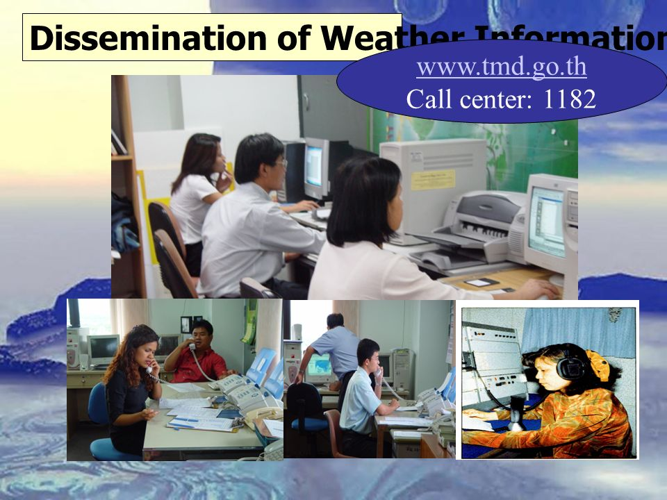 Dissemination of Weather Information