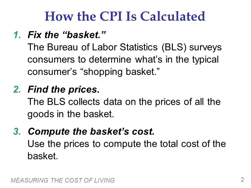 the consumer price index cpi ppt
