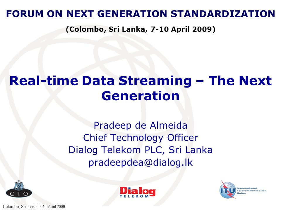Real-time Data Streaming – The Next Generation