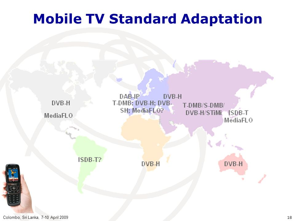 Mobile TV Standard Adaptation