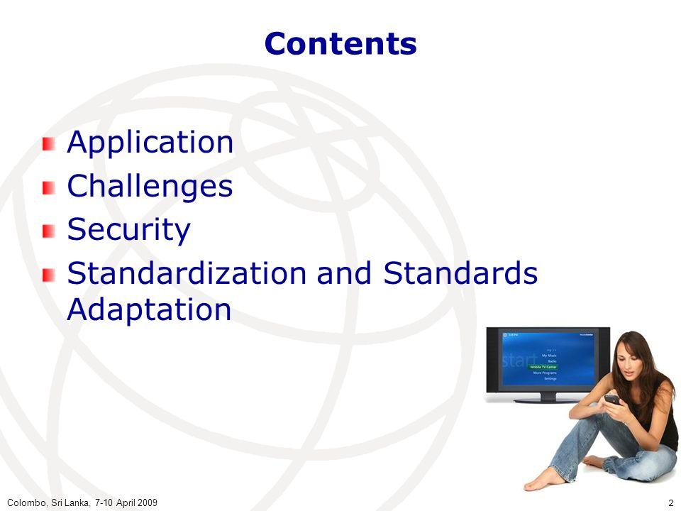 Standardization and Standards Adaptation
