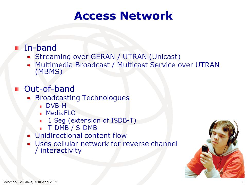Access Network In-band Out-of-band