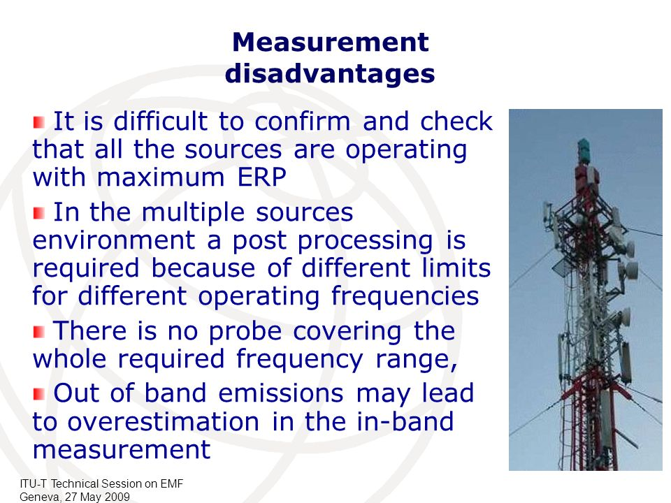 Measurement disadvantages