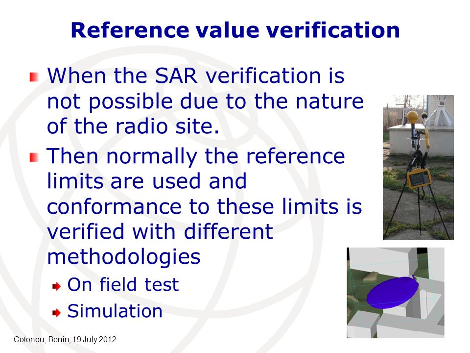 Reference value verification