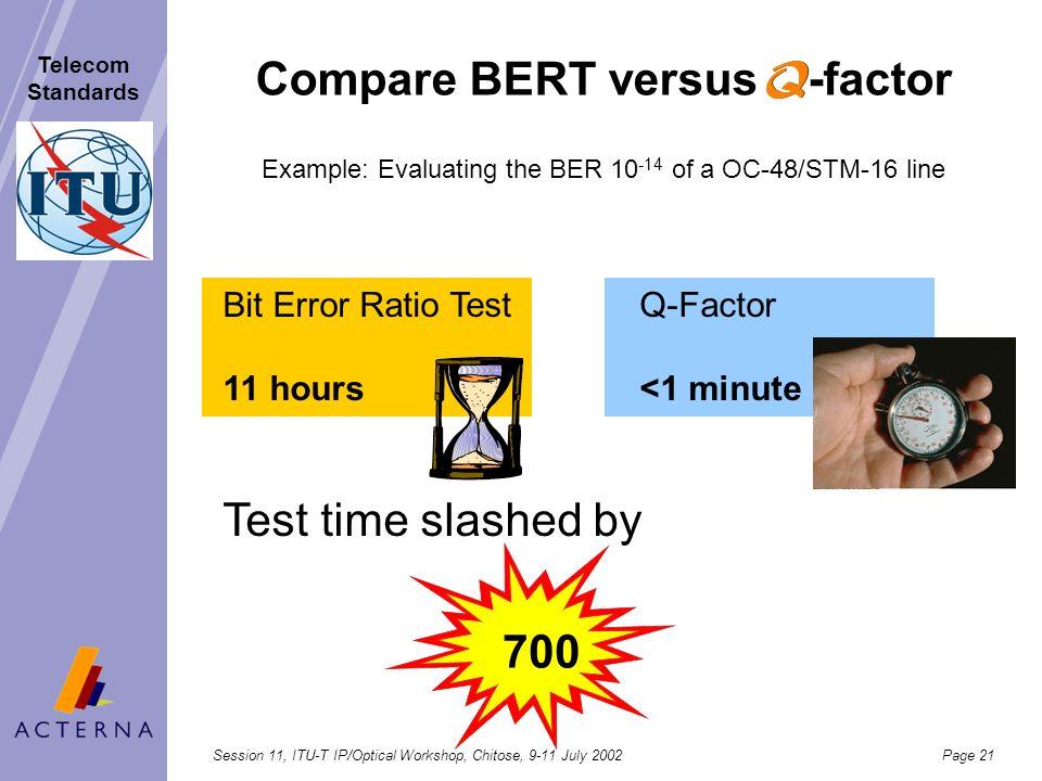 Compare BERT versus -factor
