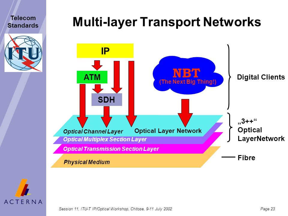 Multi-layer Transport Networks