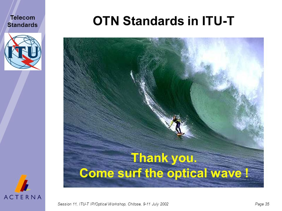 Thank you. Come surf the optical wave !