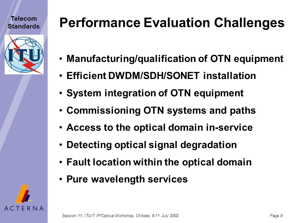 Performance Evaluation Challenges