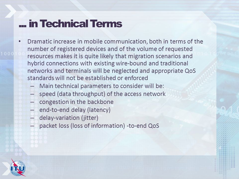 ... in Technical Terms