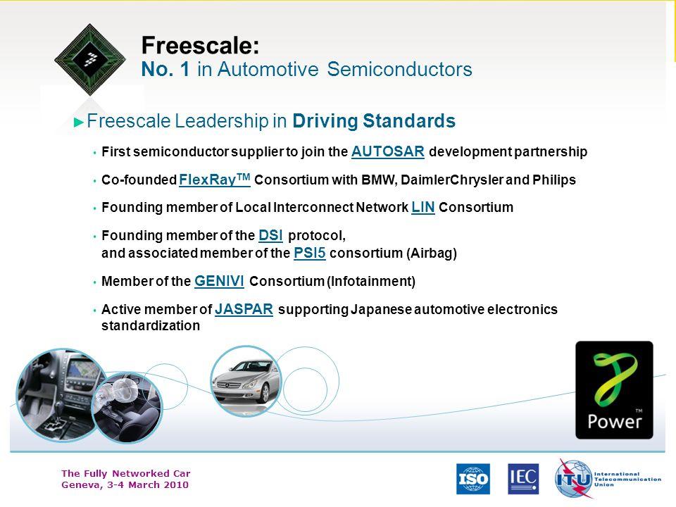 Freescale: No. 1 in Automotive Semiconductors