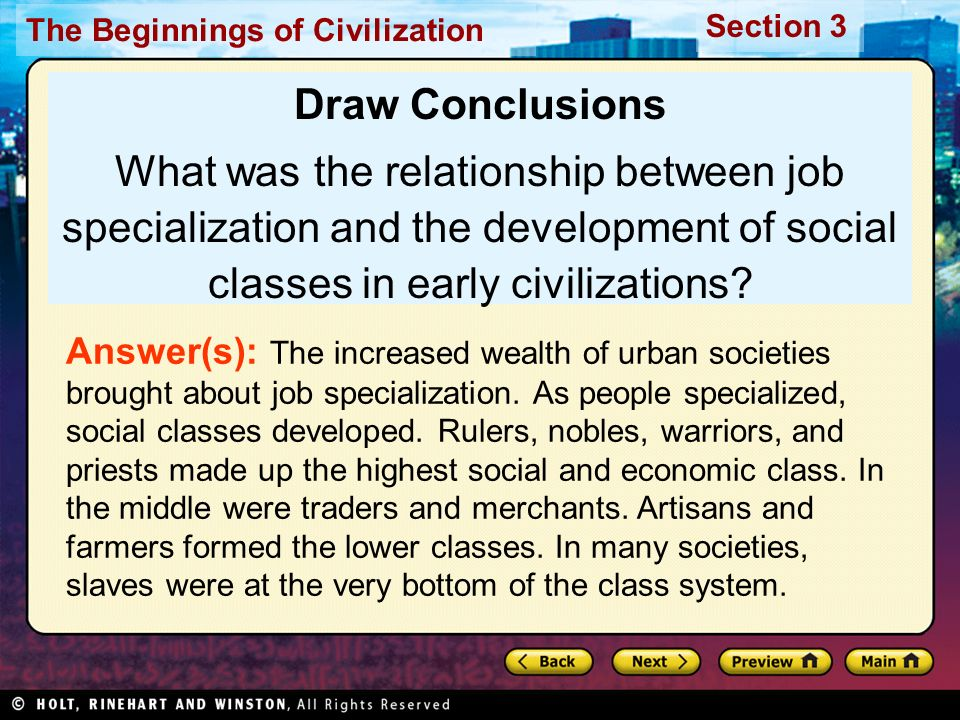 relationship between occupation and social class