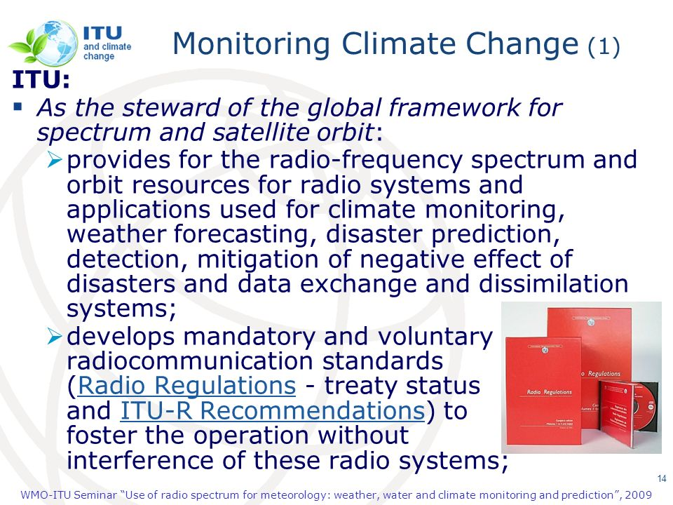 Monitoring Climate Change (1)