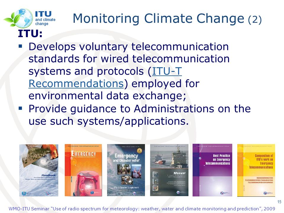 Monitoring Climate Change (2)