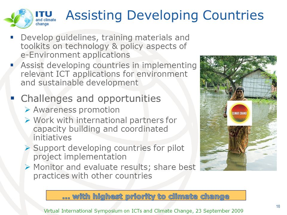 Assisting Developing Countries