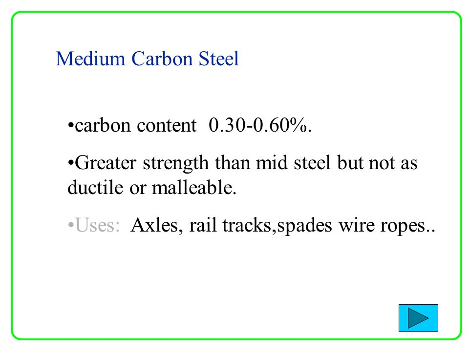 Medium Carbon Steel Wire : Materials science introduction to properties of