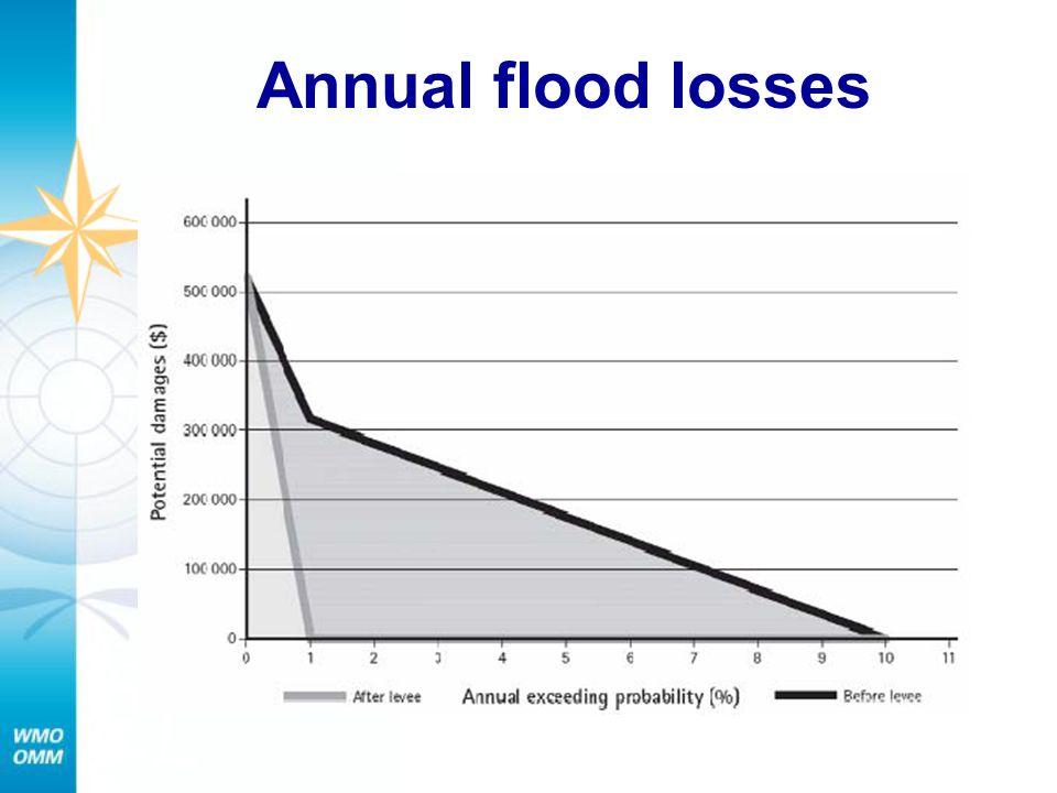 Annual flood losses
