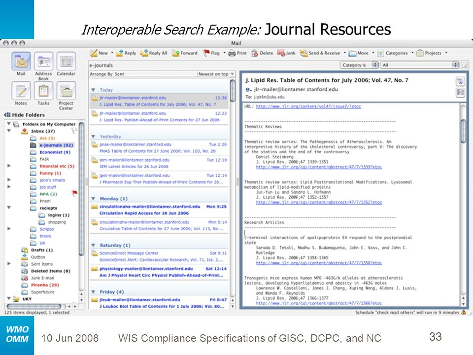 Interoperable Search Example: Journal Resources