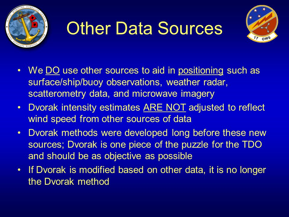 Other Data Sources