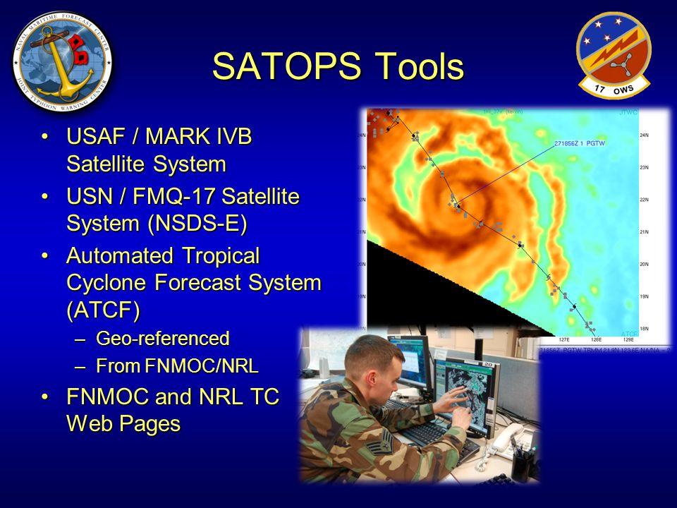 SATOPS Tools USAF / MARK IVB Satellite System
