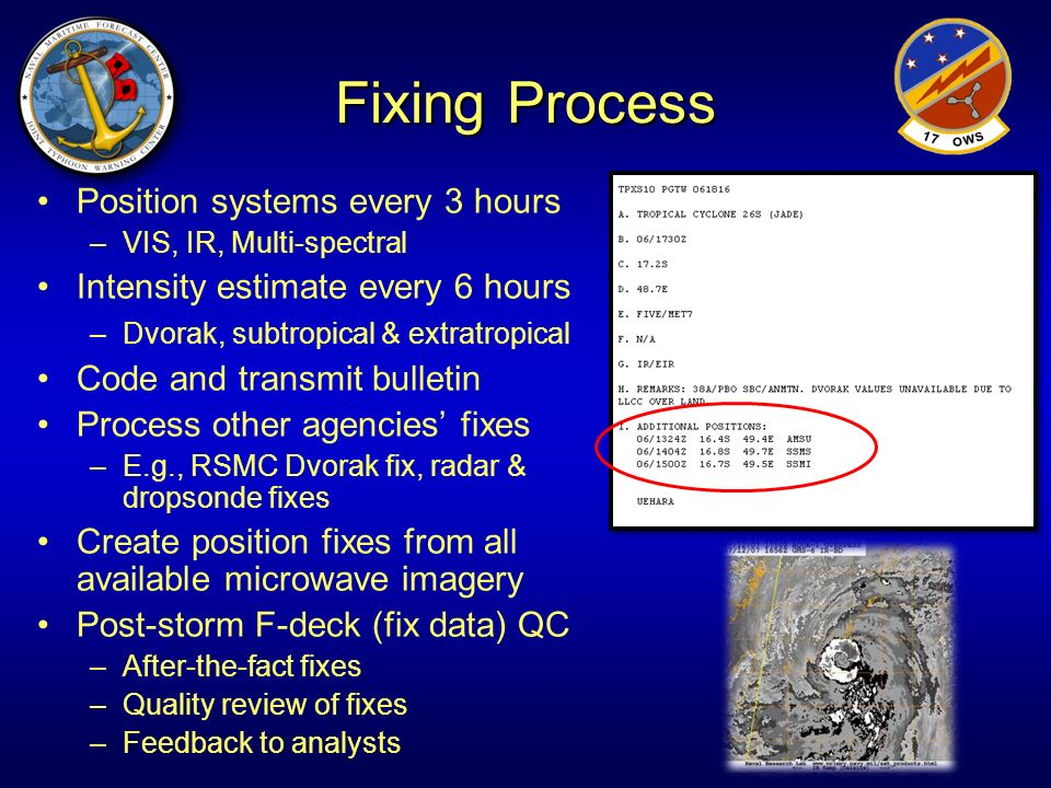 Fixing Process Position systems every 3 hours