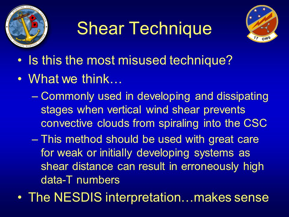 Shear Technique Is this the most misused technique What we think…