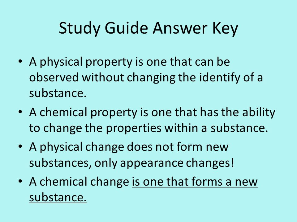Physical And Chemical Changes Term paper