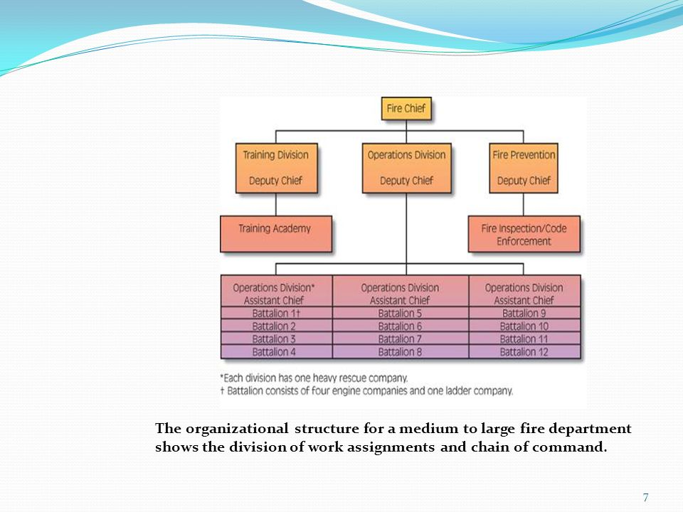 Fire Department Organization Command and Control ppt video – Fire Department Organizational Chart