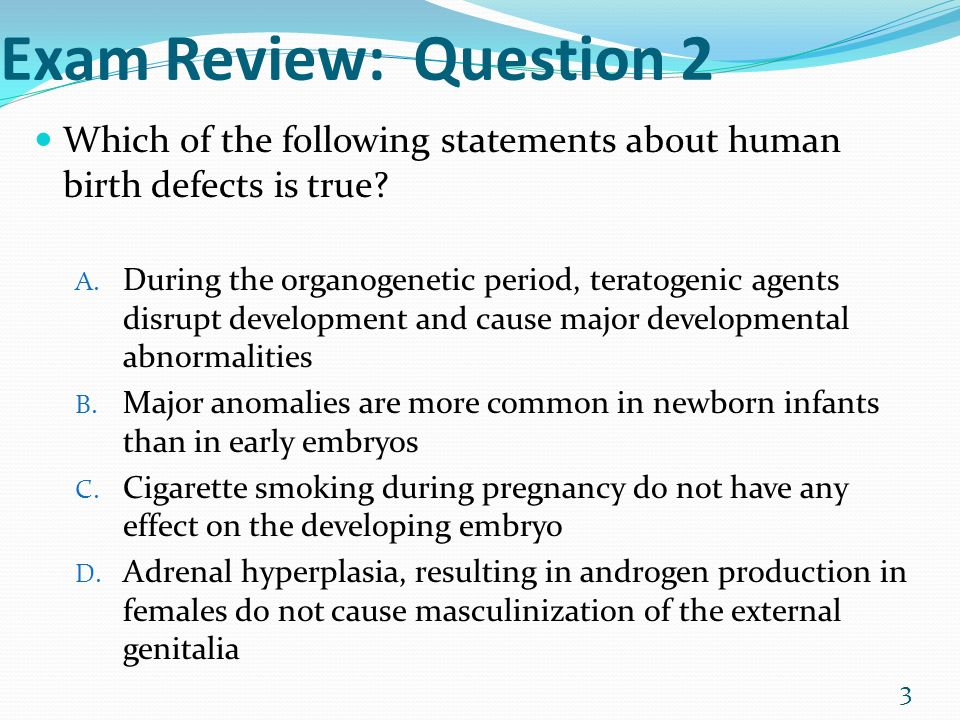 Exam Review: Question 1 Which of the following factors is ...