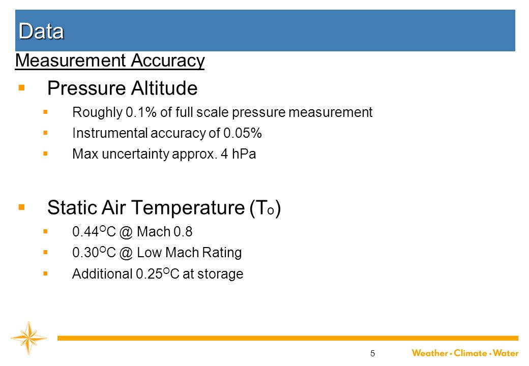 Data Pressure Altitude Static Air Temperature (To)