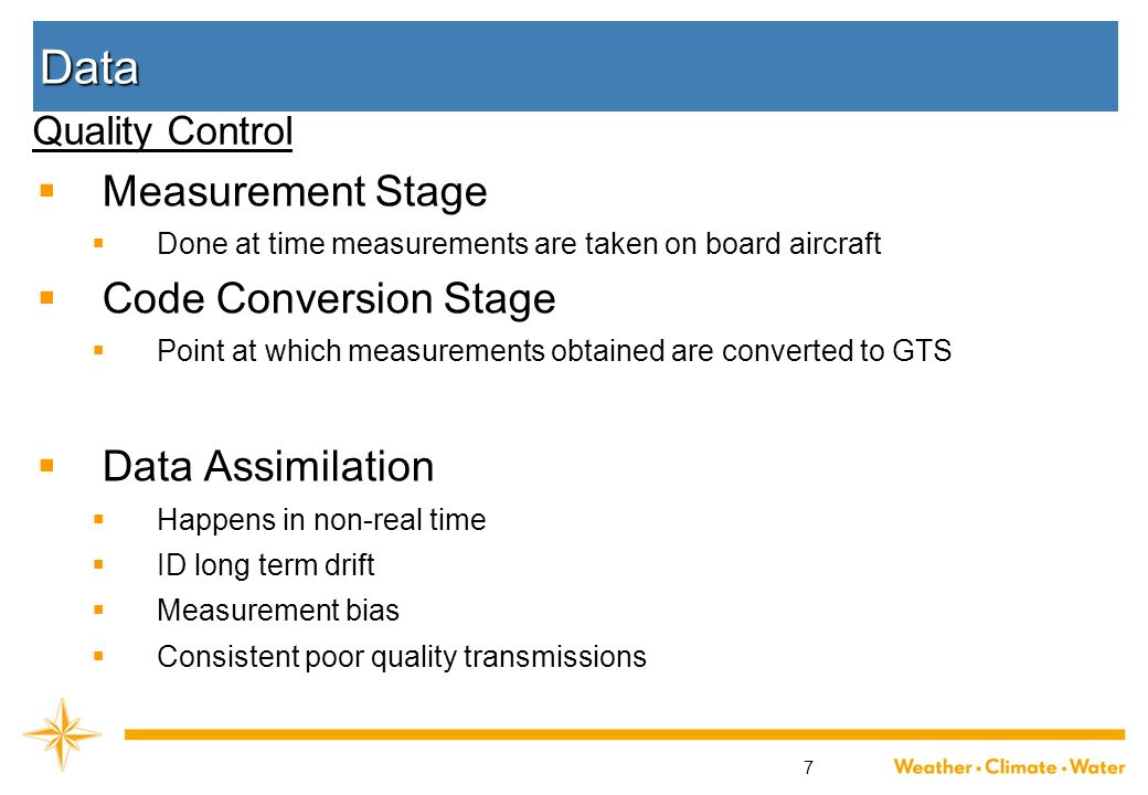Data Measurement Stage Code Conversion Stage Data Assimilation