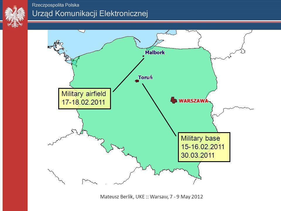 Mateusz Berlik, UKE :: Warsaw, 7 - 9 May 2012